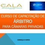 TURMA 02 – CURSO DE CAPACITAÇÃO DE ÁRBITRO  PARA CÂMARAS PRIVADAS